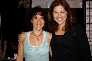 Toni Bergins & Lori Andrus at Midwest Yoga Conference